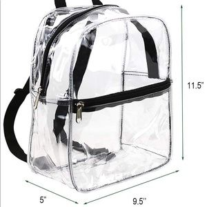 Handbags - Clear Mini Backpack